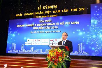 Lễ kỷ niệm 14 năm Ngày Doanh nhân Việt Nam 13/10/2018